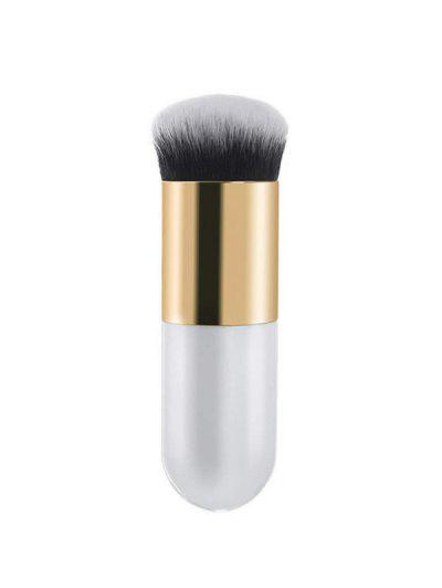 Wet And Dry Chunky Makeup Brush - Natural White 1pc