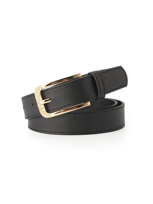 Retro Engraved Pin Buckle Belt