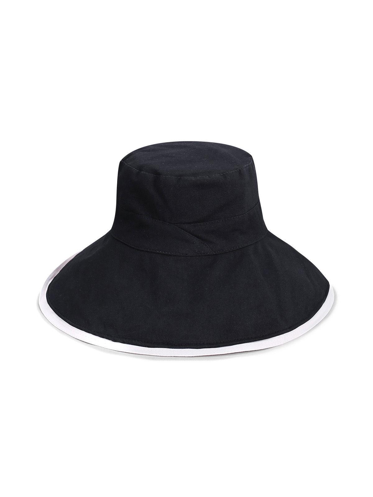 Reversible Wide Brim Bucket Hat