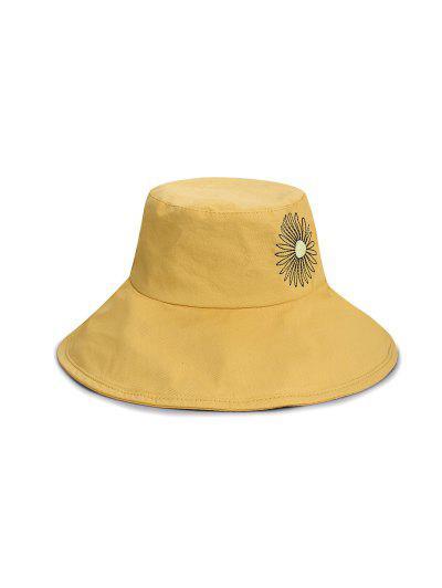 Sunflower Pattern Bucket Hat