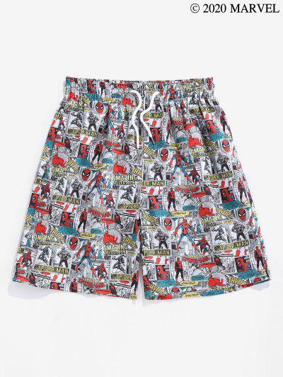 Zaful / Marvel Spider-Man Comics Graphic Shorts