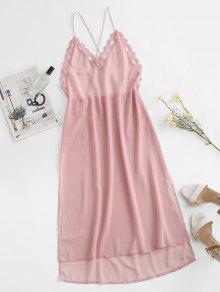 Slit High Low Sleep Dress
