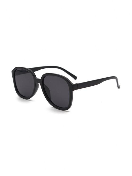 new UV Protection Square Sunglasses - BLACK