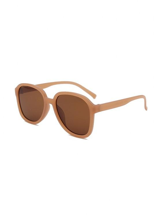 shop UV Protection Square Sunglasses - SEPIA