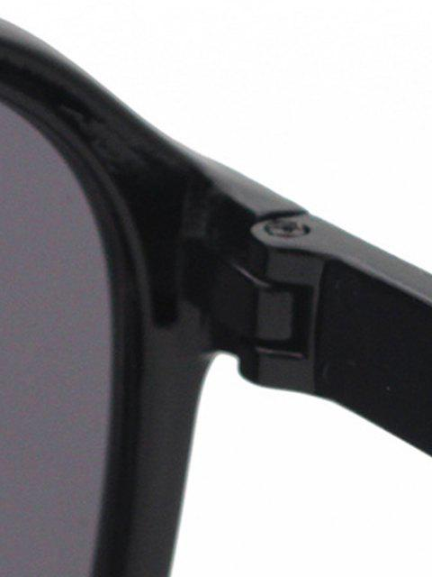 new UV Protection Square Sunglasses - BLACK  Mobile