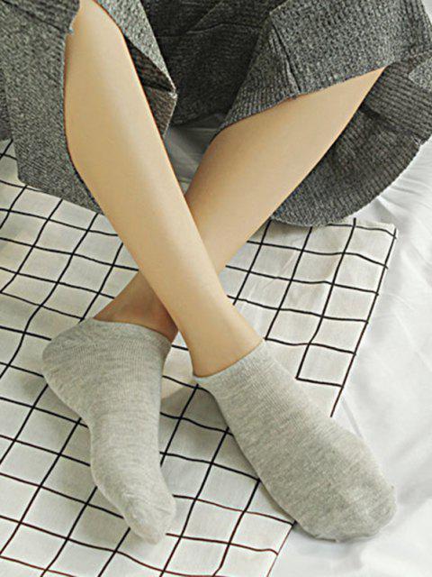 10Pairs Bonbonfarbenen Baumwolle No-Show-Socken-Set Set - Multi-A  Mobile