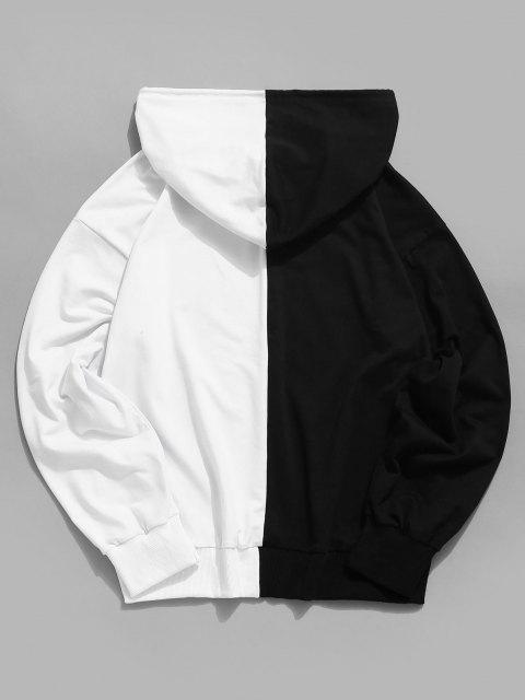 outfits Tokyo Two Tone Hoodie - BLACK XL Mobile