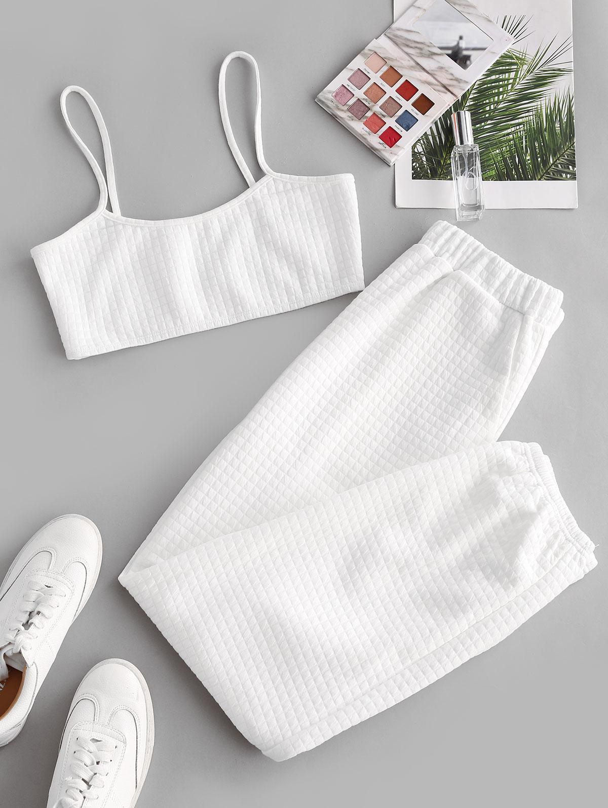 ZAFUL Cami Top and Pants Two Piece Set
