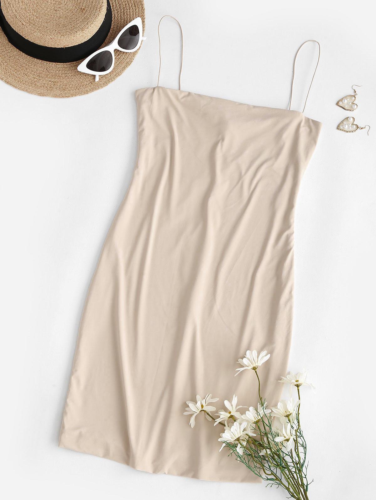 Bodycon Mini Club Slip Dress