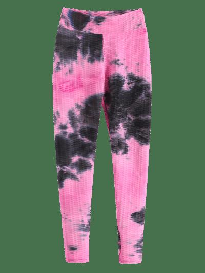 Scrunch Bum Tie Dye  Anti-cellulite Sport Leggings