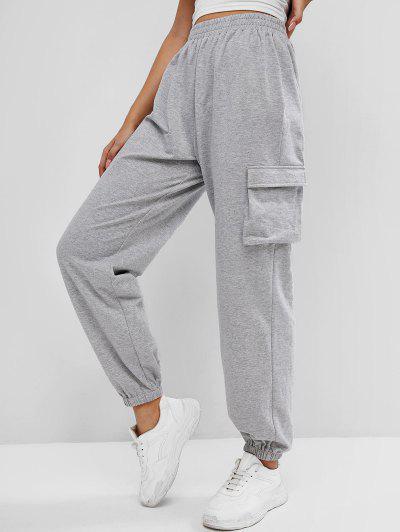 ZAFUL Pantalones Deportivos Elásticos con Cintura Alta