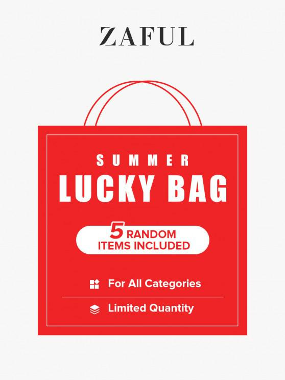 buy ZAFUL Summer Lucky Bag - 5 Random Items Included - For All Categories - Limited Quantity - MULTI S