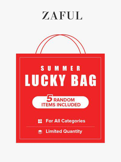 ZAFUL Summer Lucky Bag - 5 Random Items Included - For All Categories - Limited Quantity - Multi Xl