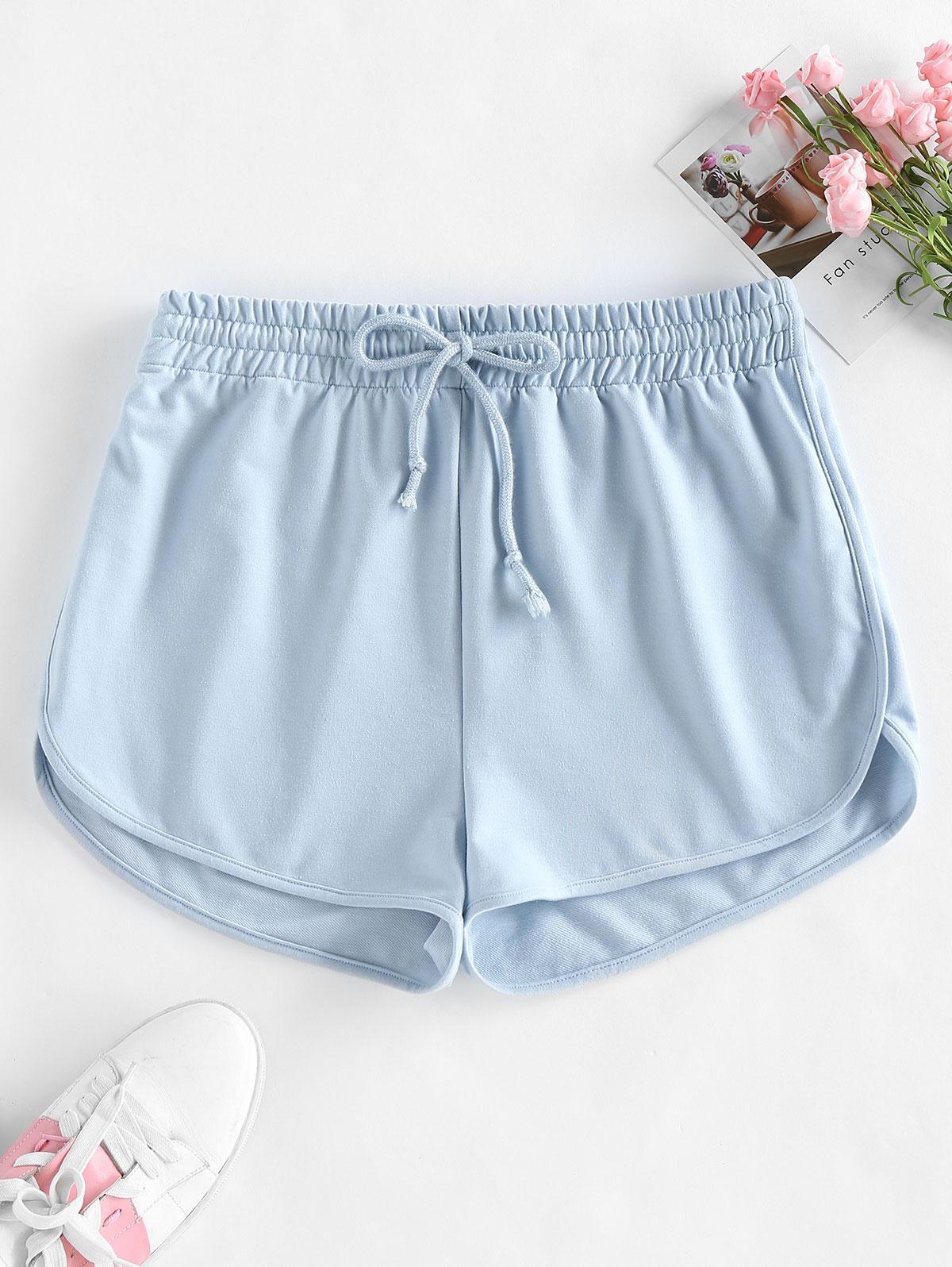 ZAFUL Drawstring Sweat Shorts