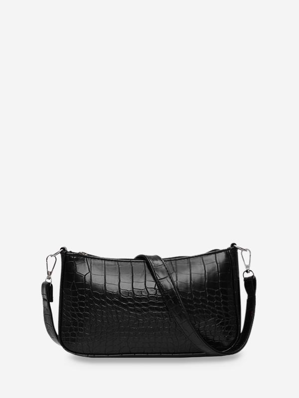 Animal Embossed Simple Style Sling Bag