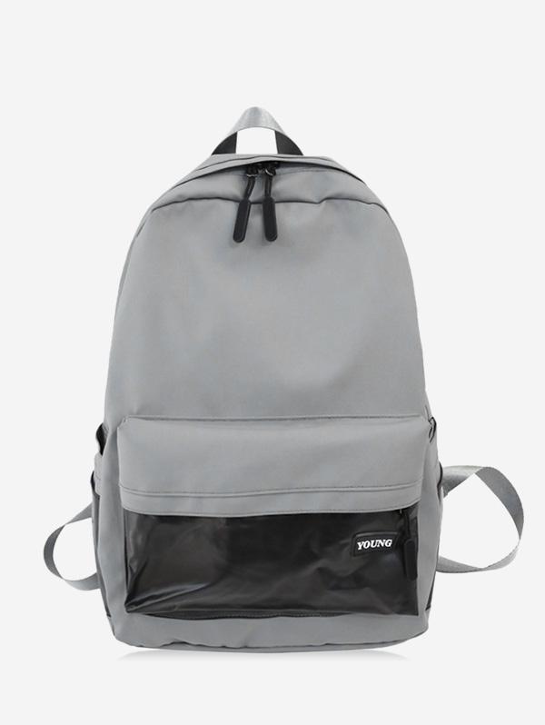 Brief Large Capacity School Backpack