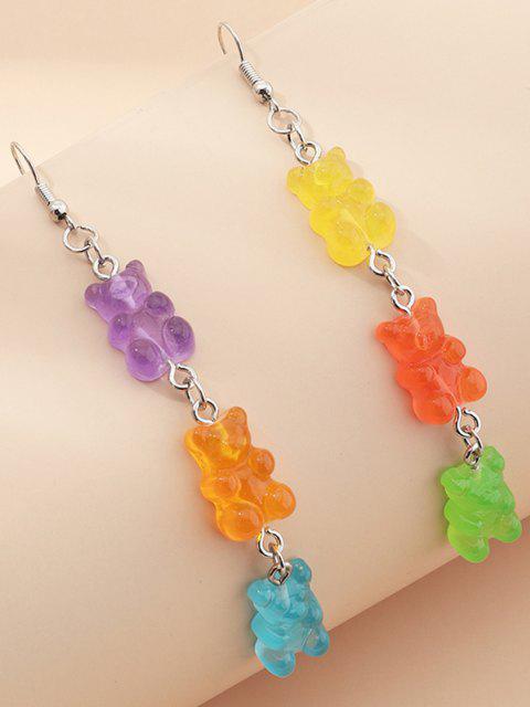 Bär Süßigkeiten Form Baumelnde Ohrringe - Multi-A  Mobile