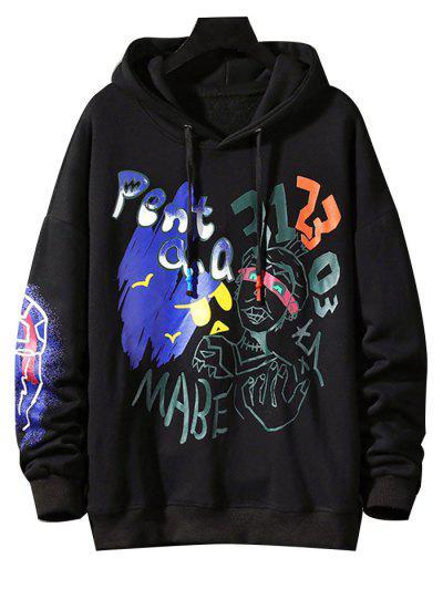 Funny Graphic Print Streetwear Hoodie