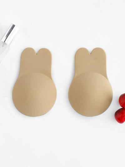 Intimate Nipple Covers Adhesive Pasties - Light Coffee