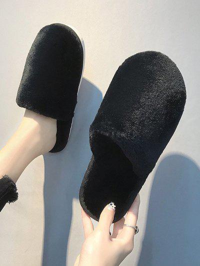 Sandalias Planas De Color De Metal Con Cordones - Negro Eu 39