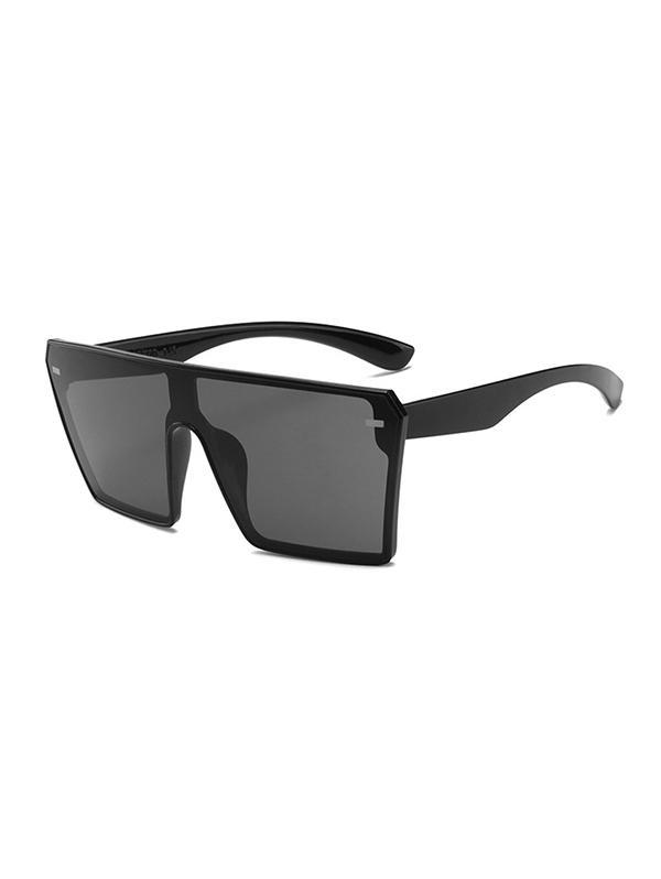 One-piece Square Oversized Sunglasses