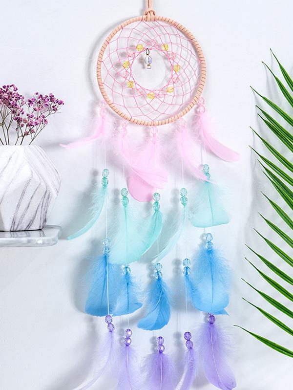 Feather Fringe Hanging Dream Catcher