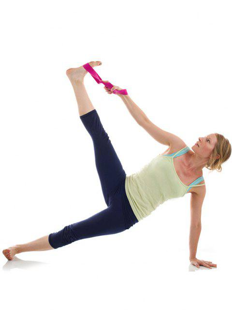 unique Resistance Band for Workout Gym Yoga Leg Training - ROSE RED  Mobile