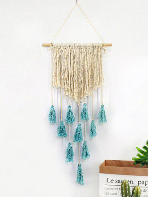 womens Tasseled Macrame Wall Hanging - MULTI-A  Mobile