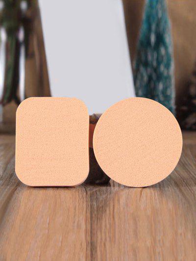 Amohadilla De Doble Uso Esponja De Maquillaje - Azúcar Morena