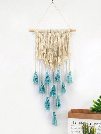 Tasseled Macrame Wall Hanging - Multi-a