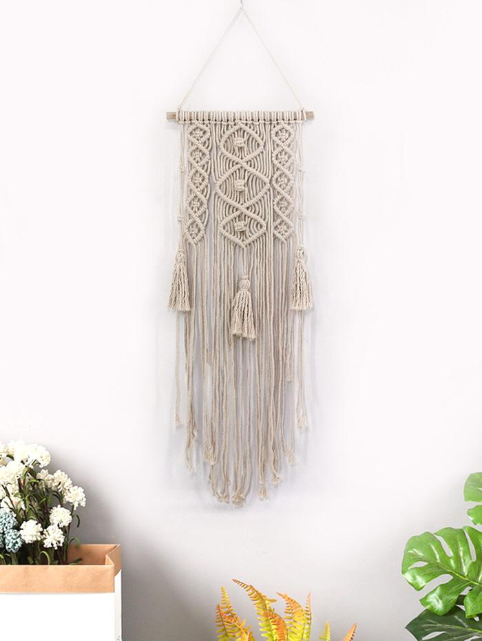 Fringed Decoration Macrame Wall Hanging