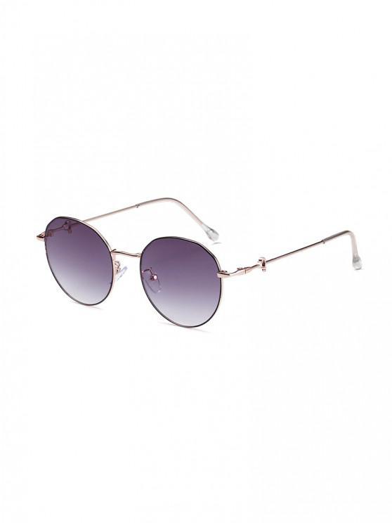 fashion Hearts Metal Frame Sunglasses - MULTI-B