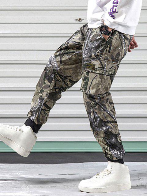 Pantalones Diseño Camuflaje Militar - Verde Camuflaje XS Mobile