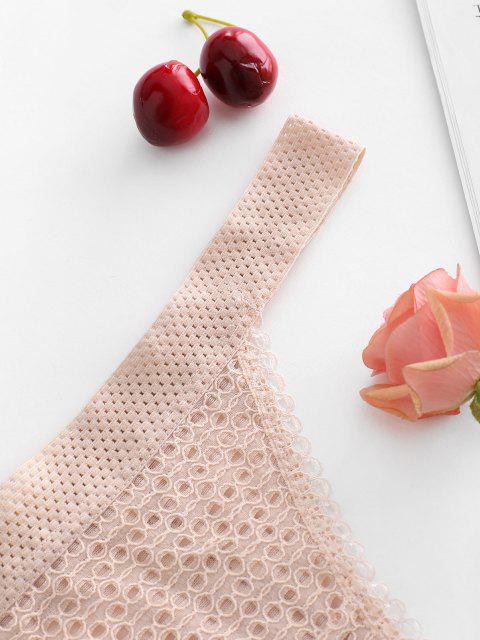 Stringen Dentelle Large - Rose clair XL Mobile
