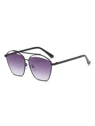 Punk Funny Gradient Lens Sunglasses - Concord