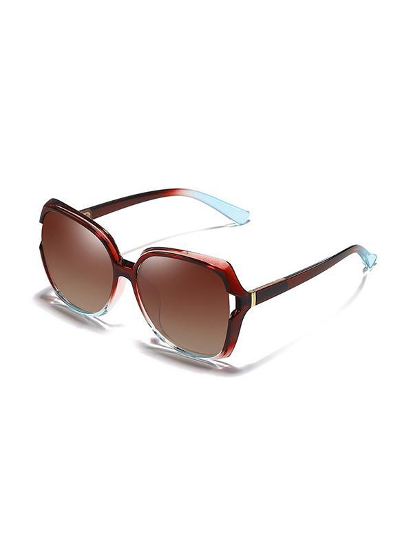 Polarized Large Frame Sunglasses
