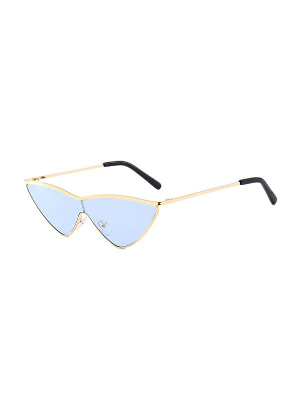 Candy Colored Metal Frame Sunglasses