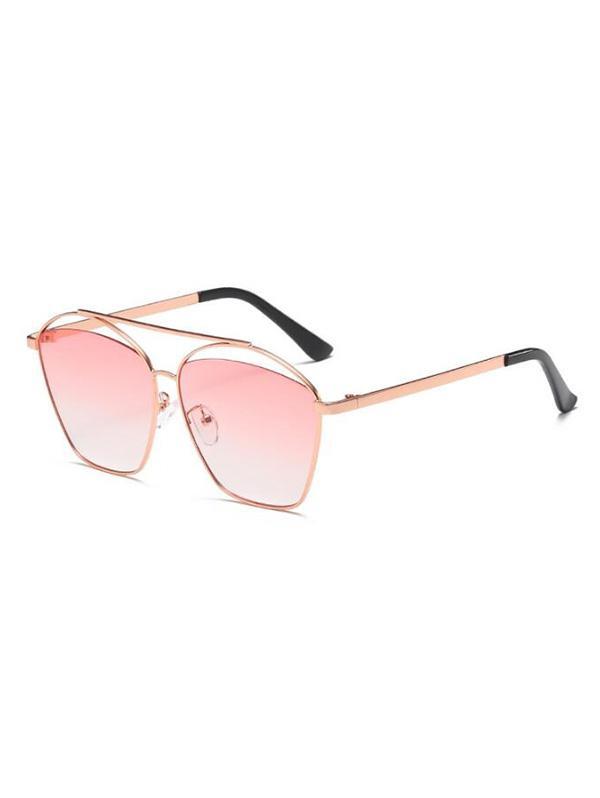 Punk Funny Gradient Lens Sunglasses