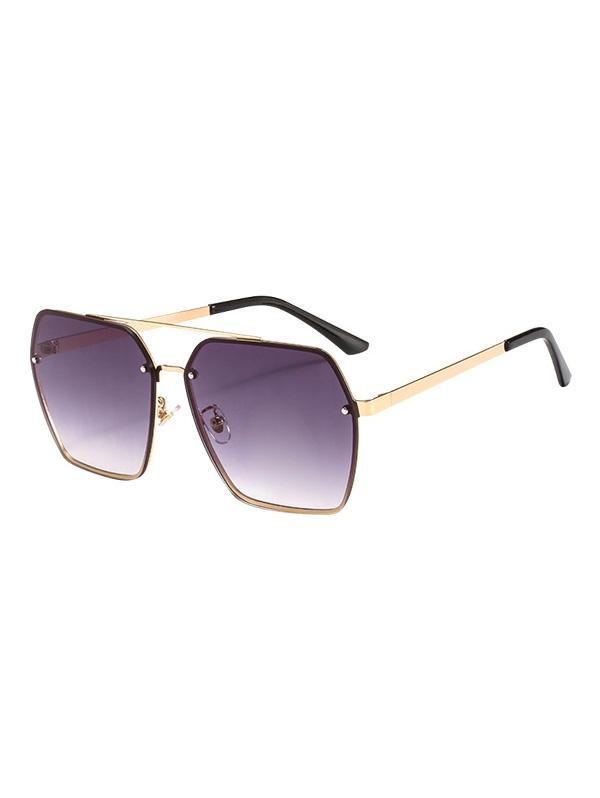 Trimming Anti UV Sunglasses