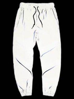 Pantalon De Sport Fuselé Convenable à Cordon - Gris Clair 2xl