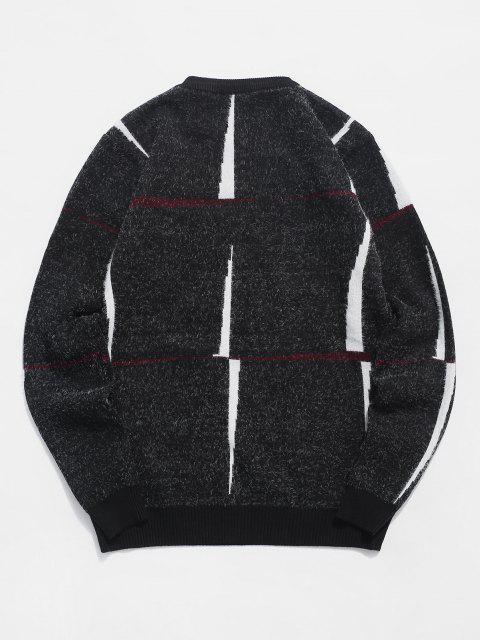 Jersey Cuello Redondo Estampado Letra - Negro XS Mobile