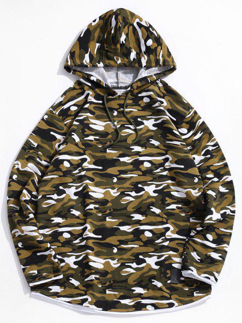 Sweat à Capuche Camouflage - Multi-B M Mobile