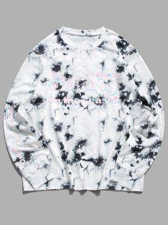 ZAFUL Sweat-shirtDécontractéTeinté Graphique à Col Rond - Multi S