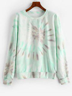 Sweatshirt Teinté à Goutte Epaule - Multi-b S