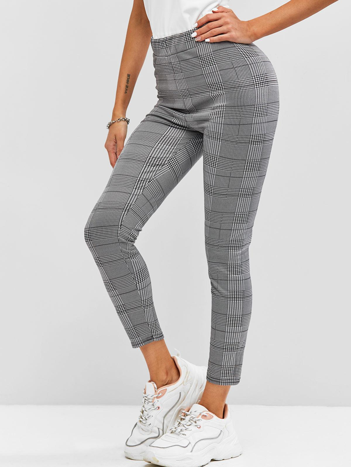 Houndstooth High Rise Ninth Leggings
