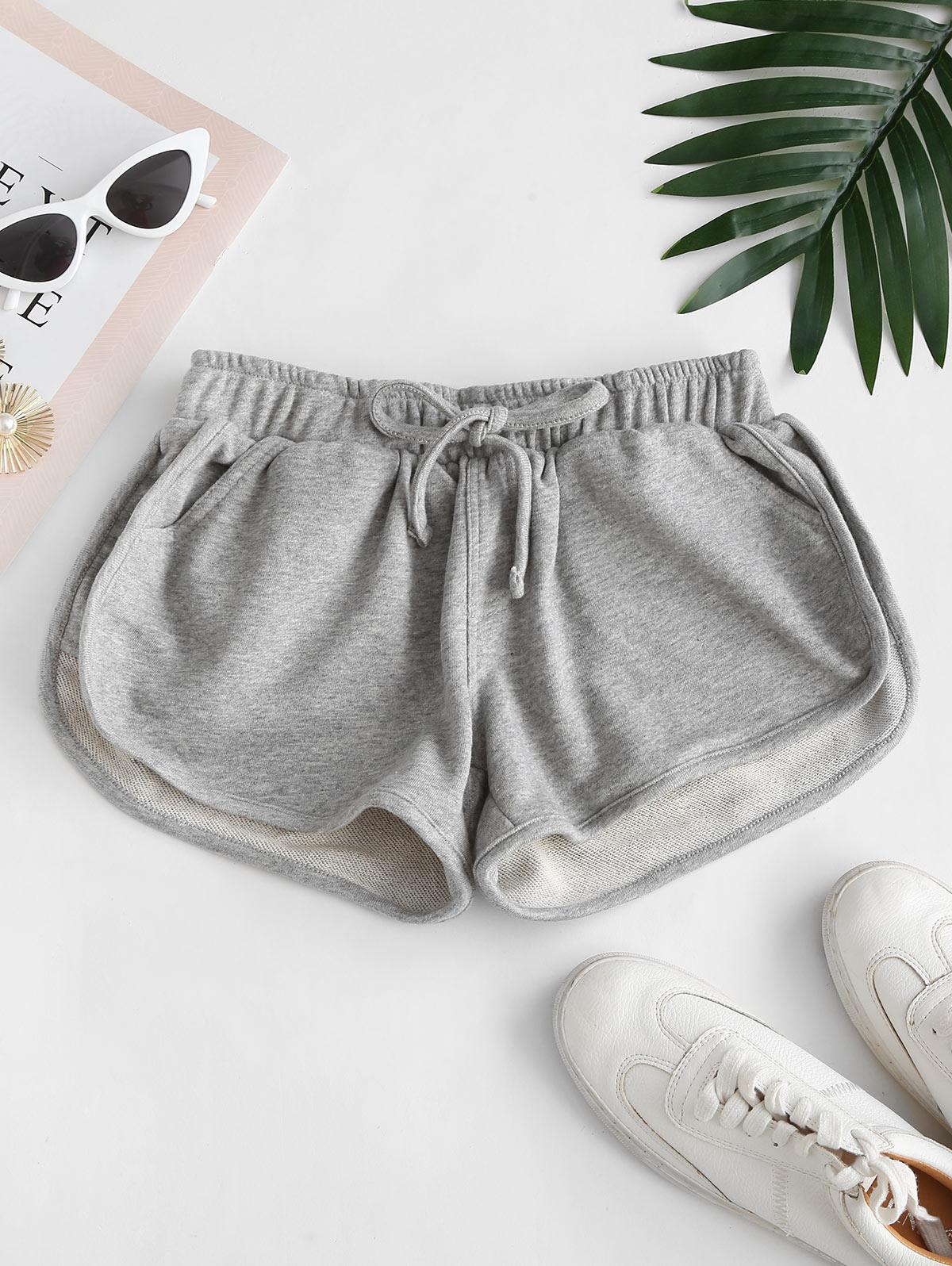 Pocket Drawstring Sweatshorts
