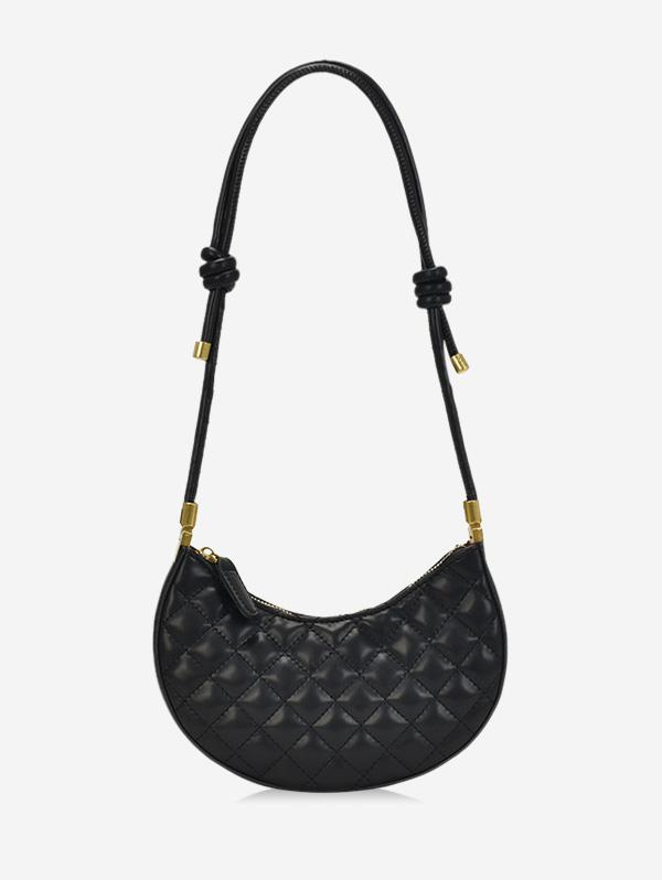 Casual Knot Quilted Shoulder Bag