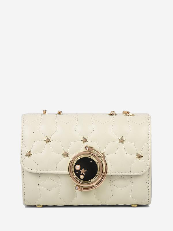 Star Chain Rectangle Crossbody Bag