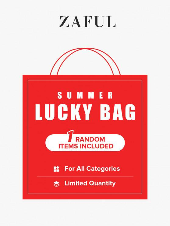 womens ZAFUL Summer Lucky Bag - 1 Random Item Included - For All Categories - Limited Quantity - MULTI L