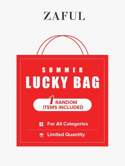 ZAFUL Summer Lucky Bag - 1 Random Item Included - For All Categories - Limited Quantity - Multi M